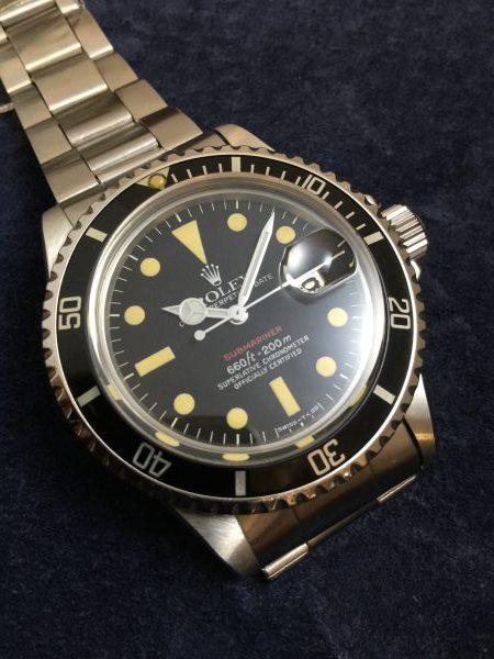 reputable site 4e284 3c9ee ロレックス 1680 赤サブを見極める!!   GINZA RASIN時計買取 ...