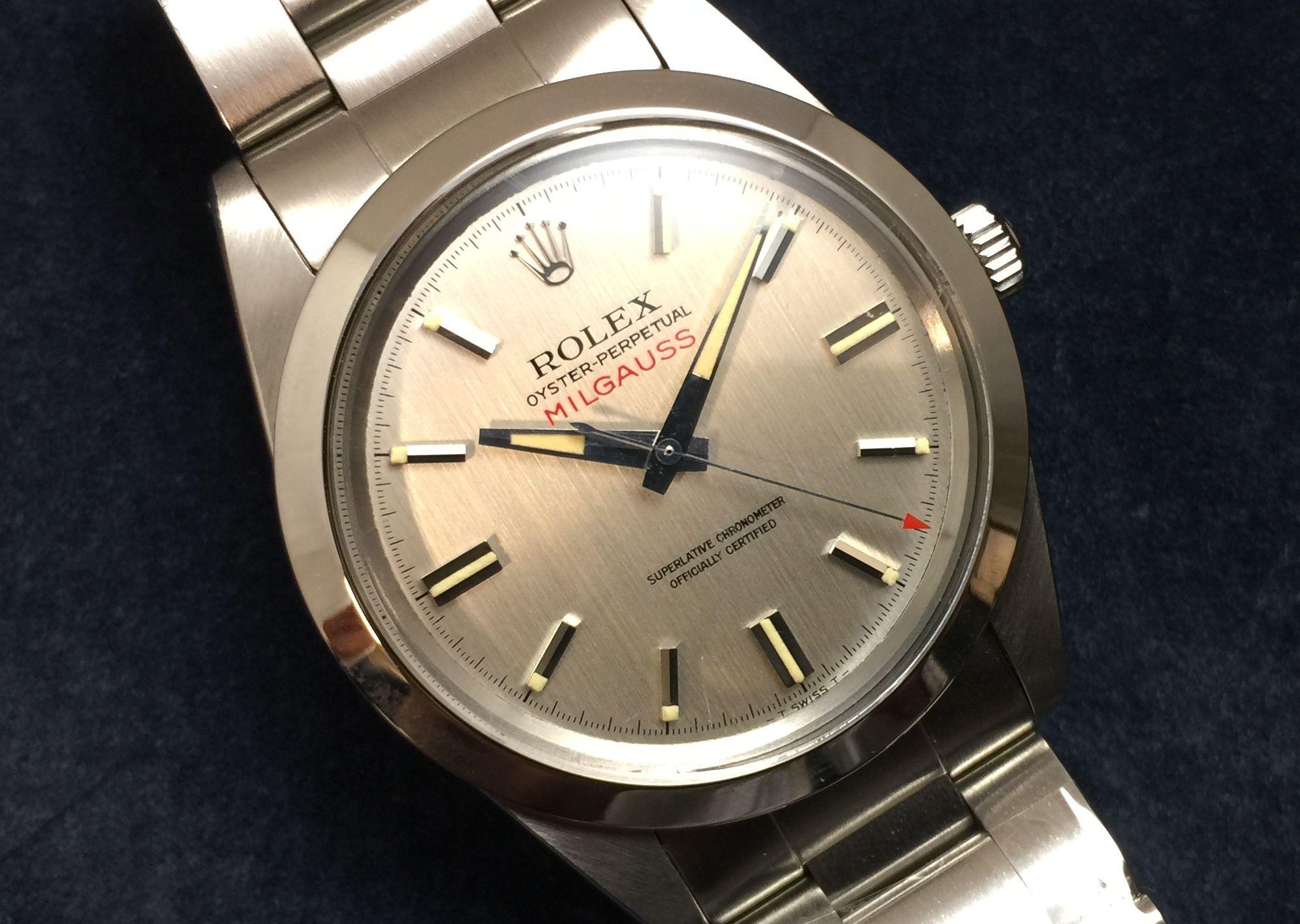 check out f5d51 b8ec3 ロレックス アンティークミルガウス 1019 | GINZA RASIN時計 ...