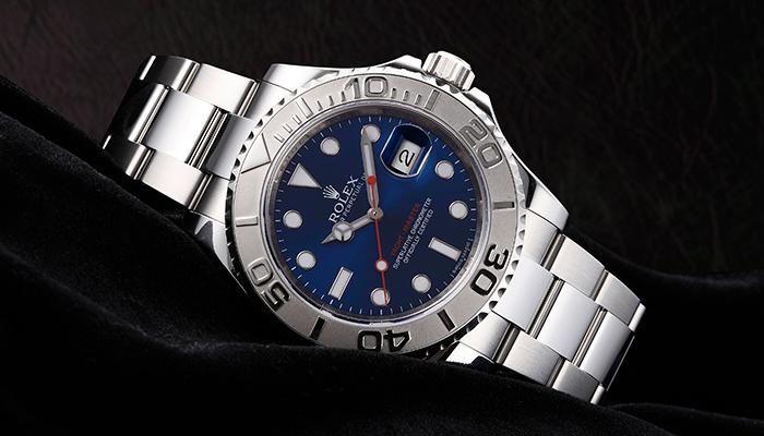ロレックス ヨットマスター 116622 ブルー
