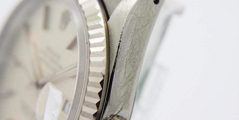 キズの多い高級時計 買取