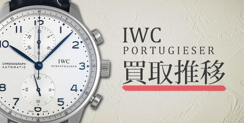 IWC ポルトギーゼ 買取推移