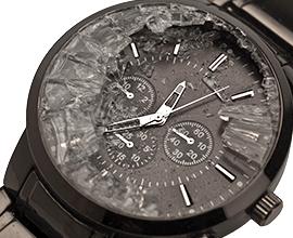 腕時計 ガラス 破損