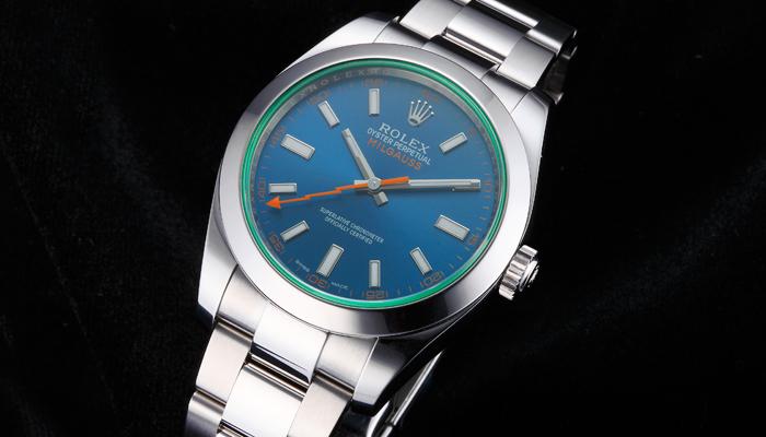 ロレックス ミルガウス 116400GV Zブルー