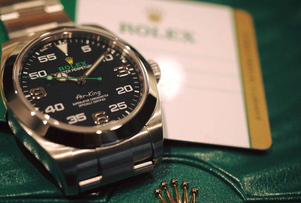 ロレックス エアキング 116900
