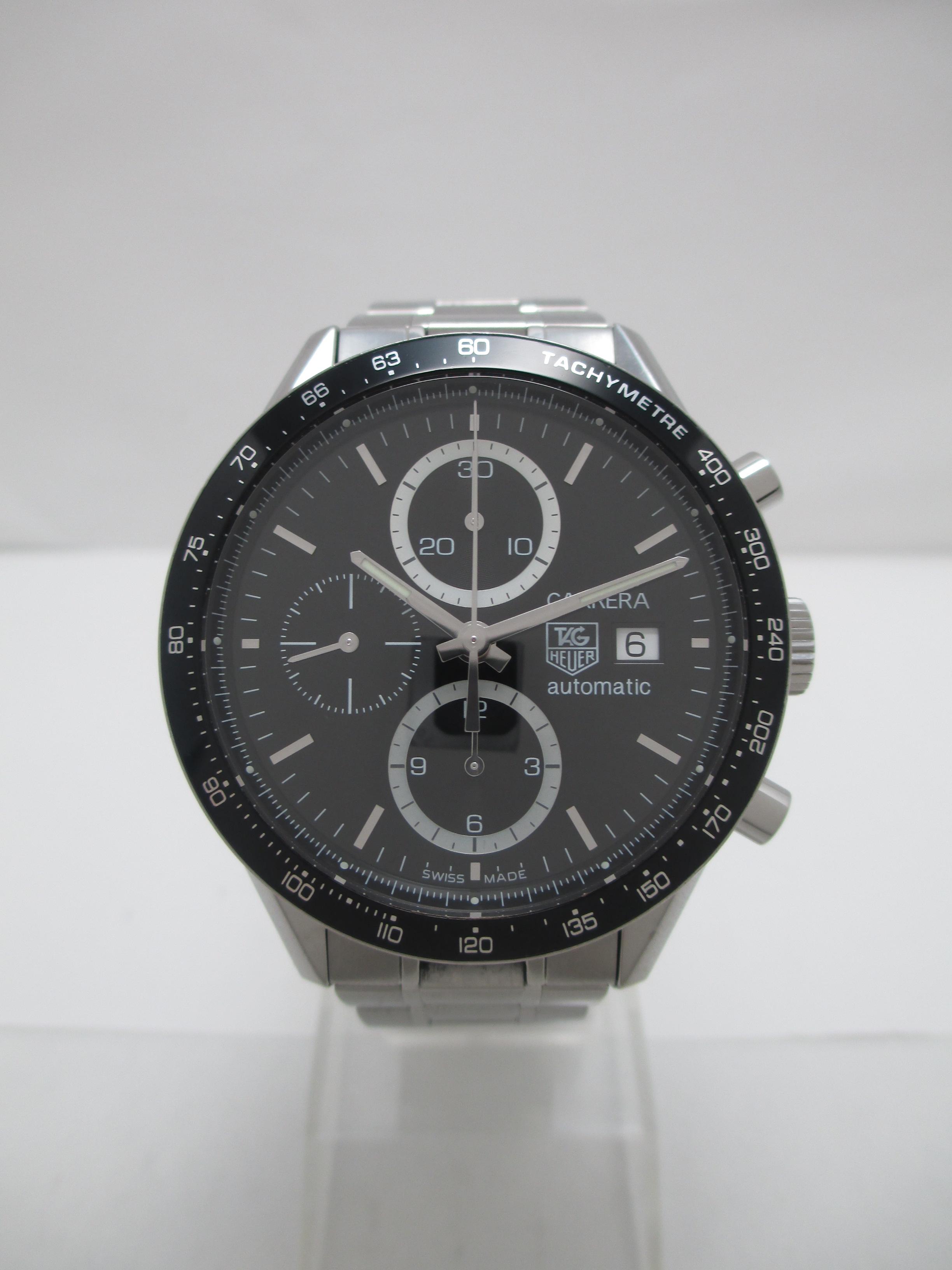 cv2010 ba0794 タグホイヤー カレラタキメーターの買取実績 時計買取
