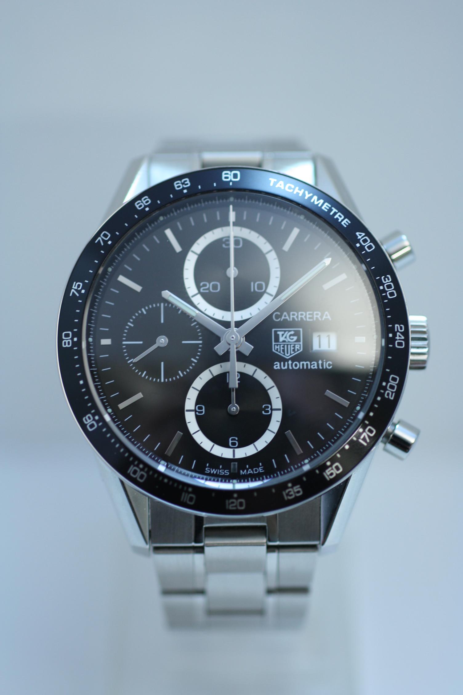 cv2010 ba0786 タグホイヤー カレラクロノグラフの買取実績 時計買取