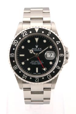 ロレックス GMTマスターII 黒ベゼル 16710
