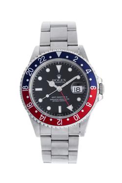 ロレックス GMTマスターII 赤青ベゼル U番 16710