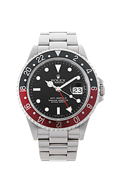 ロレックス GMTマスターII 赤黒ベゼル X番 16710