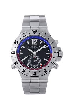 ブルガリ ディアゴノ プロフェッショナル GMT GMT40SSD