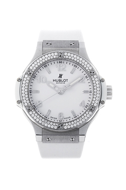 ウブロ ビッグバン スチールホワイトダイヤモンド 361.SE.2010.RW.1104