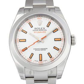 ロレックス ミルガウス 116400 ホワイト