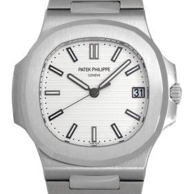 パテックフィリップ  ノーチラス ラージ ホワイト 5711/1A-011