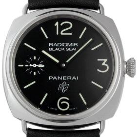 PAM00380 ラジオミール ブラックシール ロゴ アッチャイオ