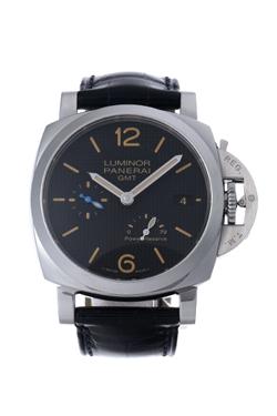 パネライ ルミノール1950 3デイズ GMT パワーリザーブ オートマティック アッチャイオ PAM01537