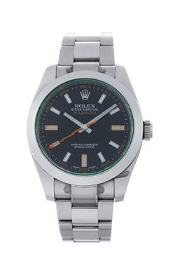 ロレックス ミルガウス グリーンガラス 116400GV