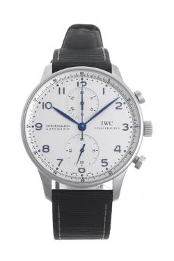 IWC ポルトギーゼ 青針 IW371417