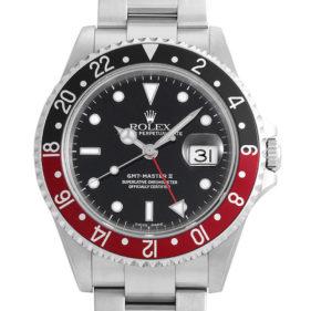 ロレックス GMTマスターII 16710 赤黒 / 黒