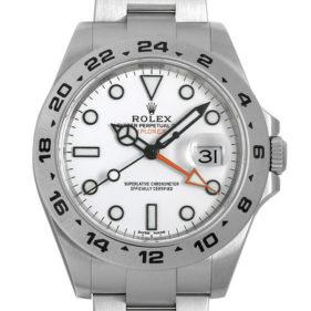 ロレックス エクスプローラー II 216570 ホワイト
