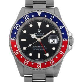 ロレックス GMTマスター 16700 青赤