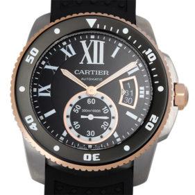 カリブル ドゥ カルティエ ダイバー ブラック W7100055