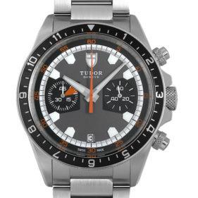 TUDOR(チューダー) ヘリテージクロノグラフ グレー ブレス 70330
