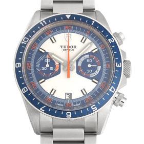TUDOR(チューダー) ヘリテージクロノグラフ ブルー ブレス 70330