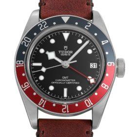 TUDOR(チューダー) ブラックベイGMT ブラウン レザー 79830RB