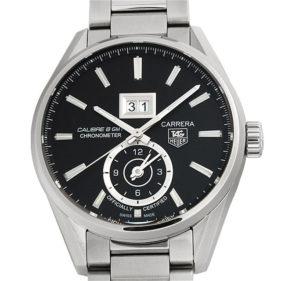 タグホイヤー カレラ グランドデイト GMT WAR5010.BA0723 ブラック