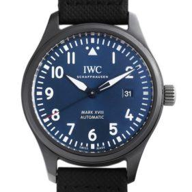 IWC パイロットウォッチ マークXVIII ローレウス スポーツ フォーグッド IW324703